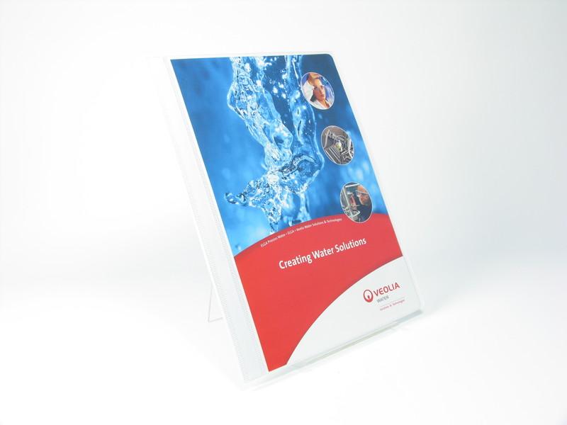 WO27145 - A4 Polyprop Flat Document Binder